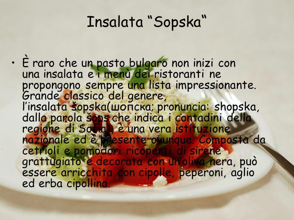 Insalata Sopska