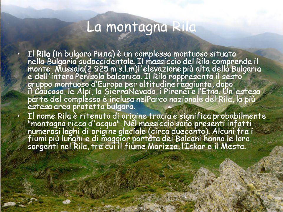 La montagna Rila