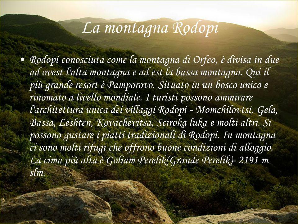 La montagna Rodopi