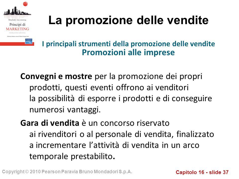 La promozione delle vendite