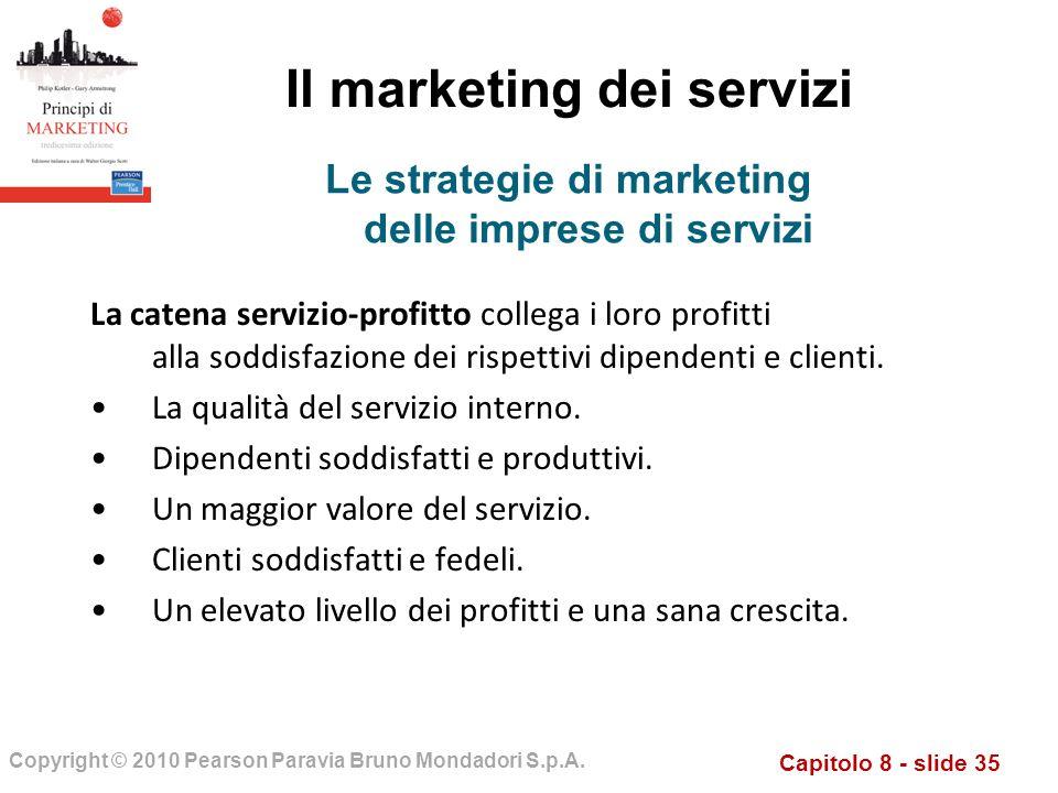 Il marketing dei servizi