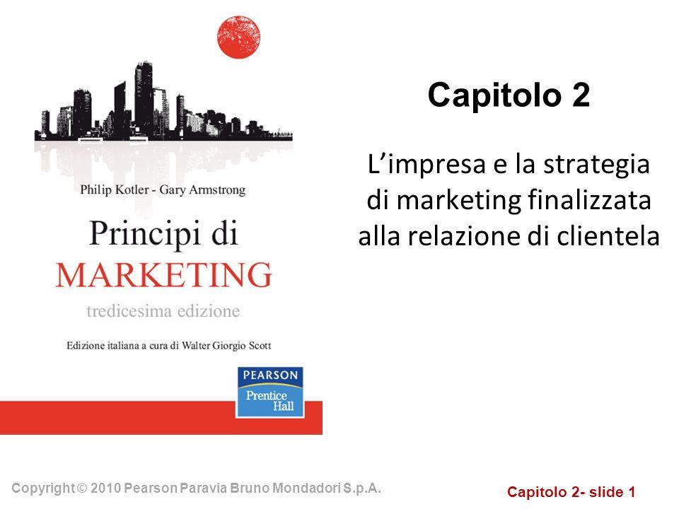Capitolo 2 L'impresa e la strategia di marketing finalizzata alla relazione di clientela