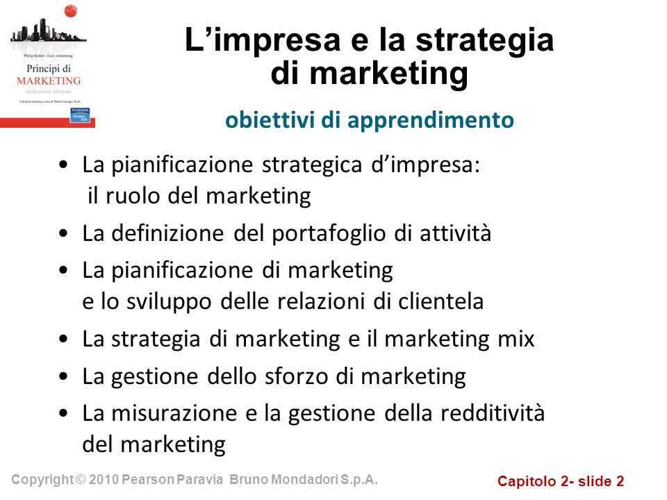 L'impresa e la strategia di marketing