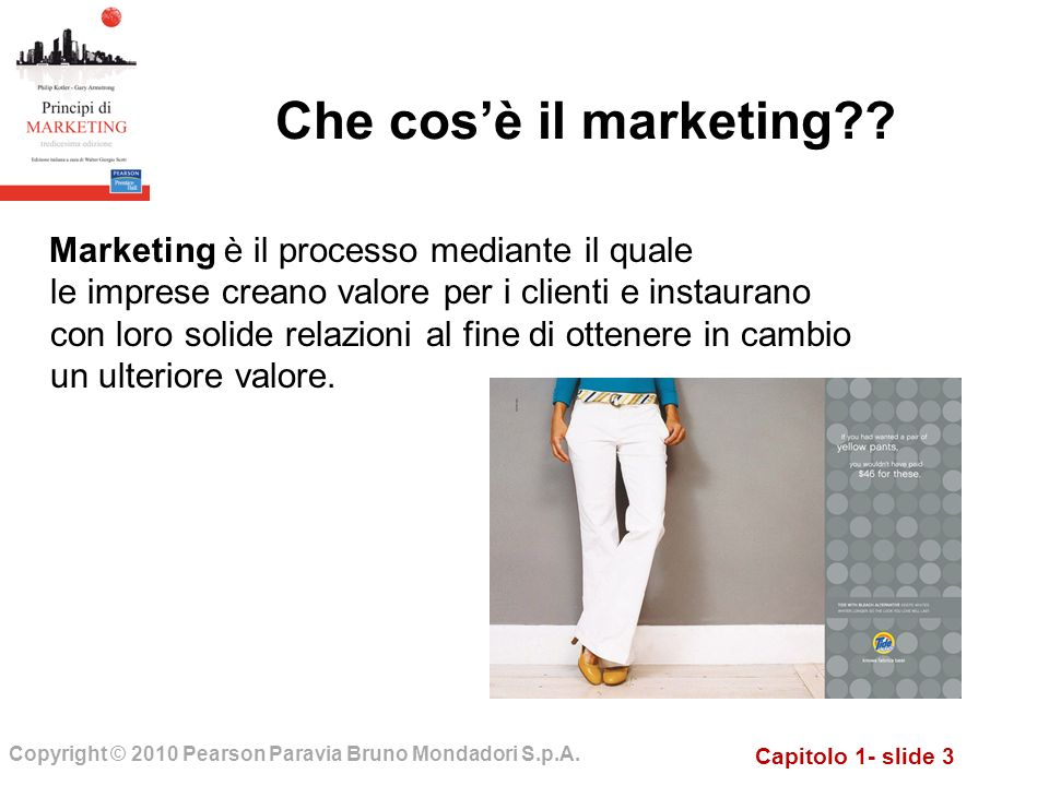 Che cos'è il marketing