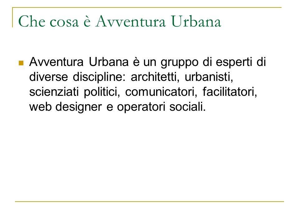 Che cosa è Avventura Urbana