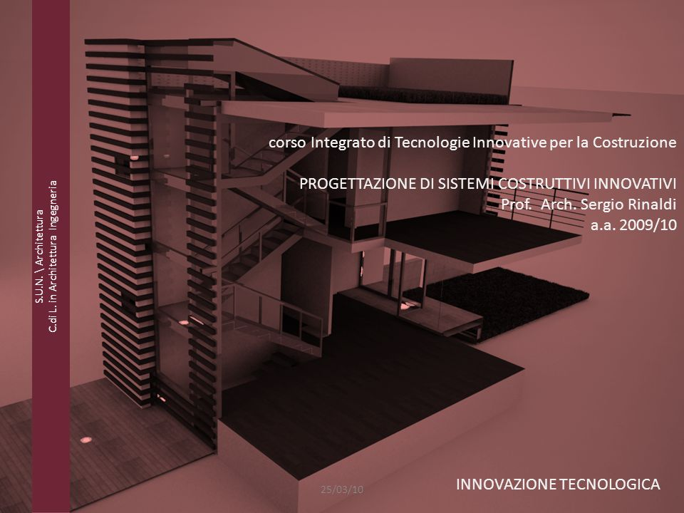 C.di L. in Architettura Ingegneria
