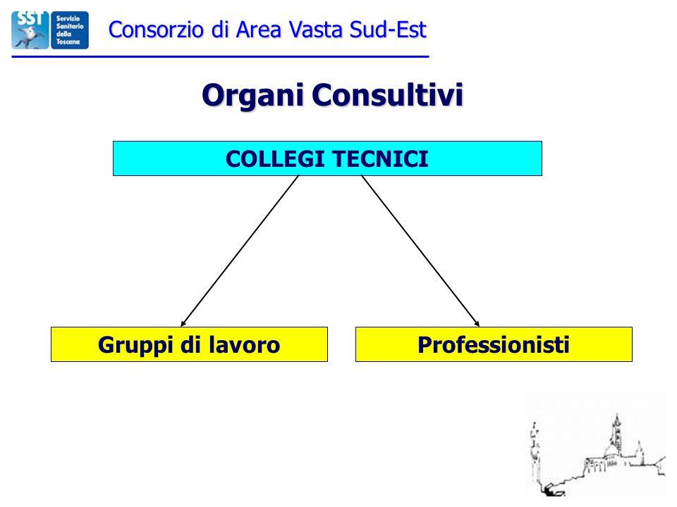 Organi Consultivi Consorzio di Area Vasta Sud-Est COLLEGI TECNICI