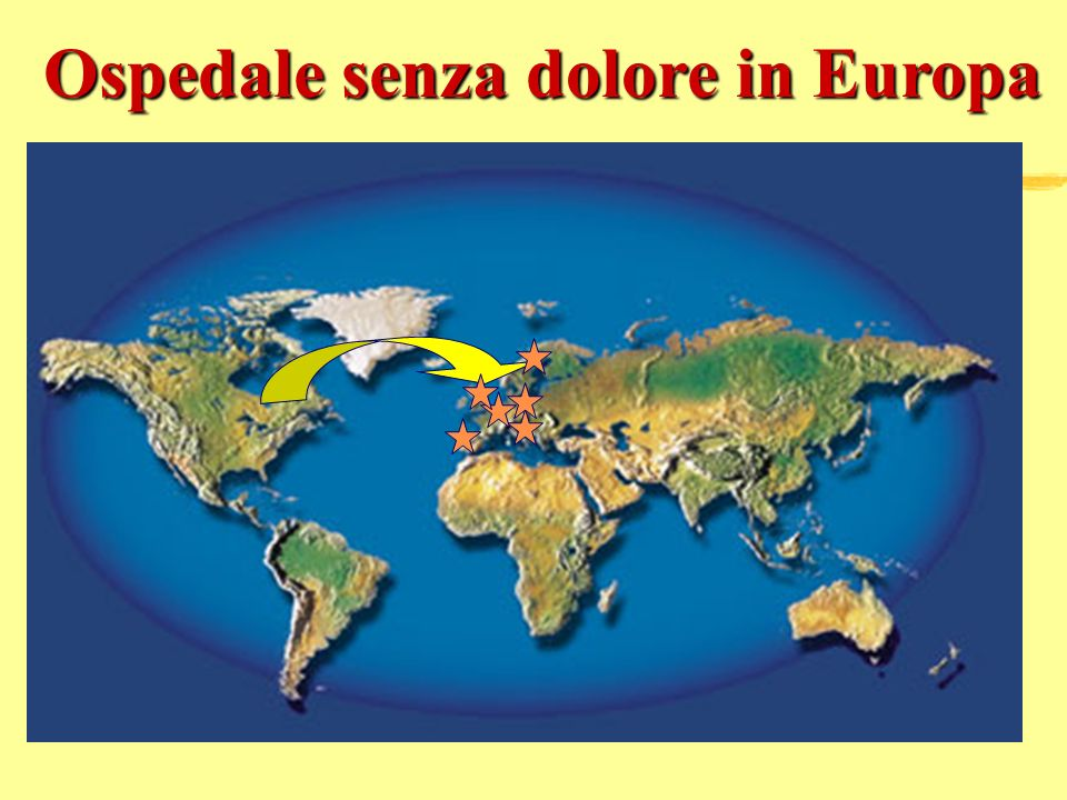 Ospedale senza dolore in Europa