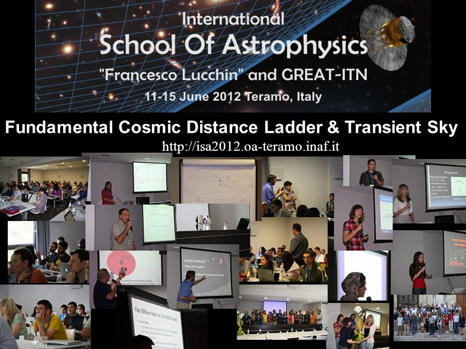 Fundamental Cosmic Distance Ladder & Transient Sky