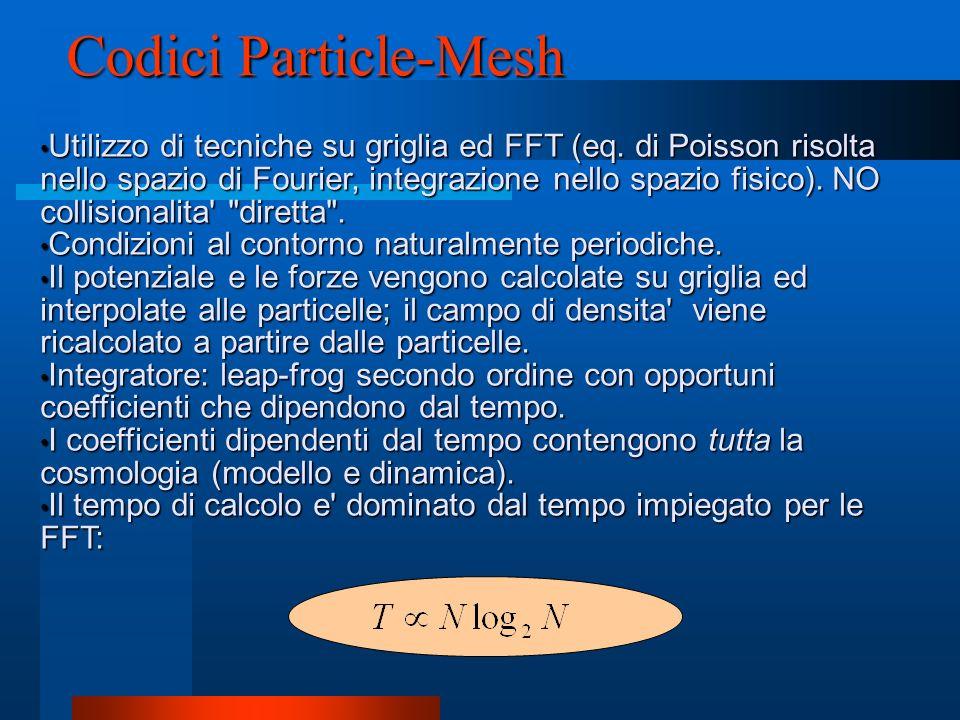 Codici Particle-Mesh