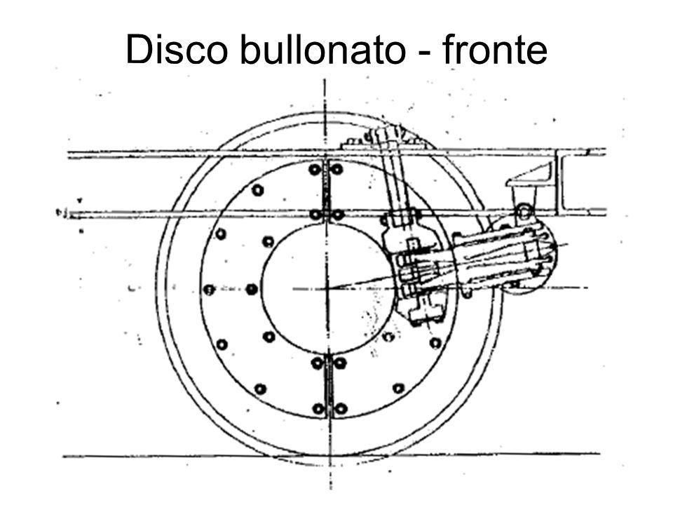 Disco bullonato - fronte