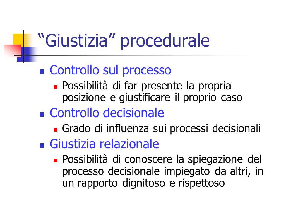 Giustizia procedurale