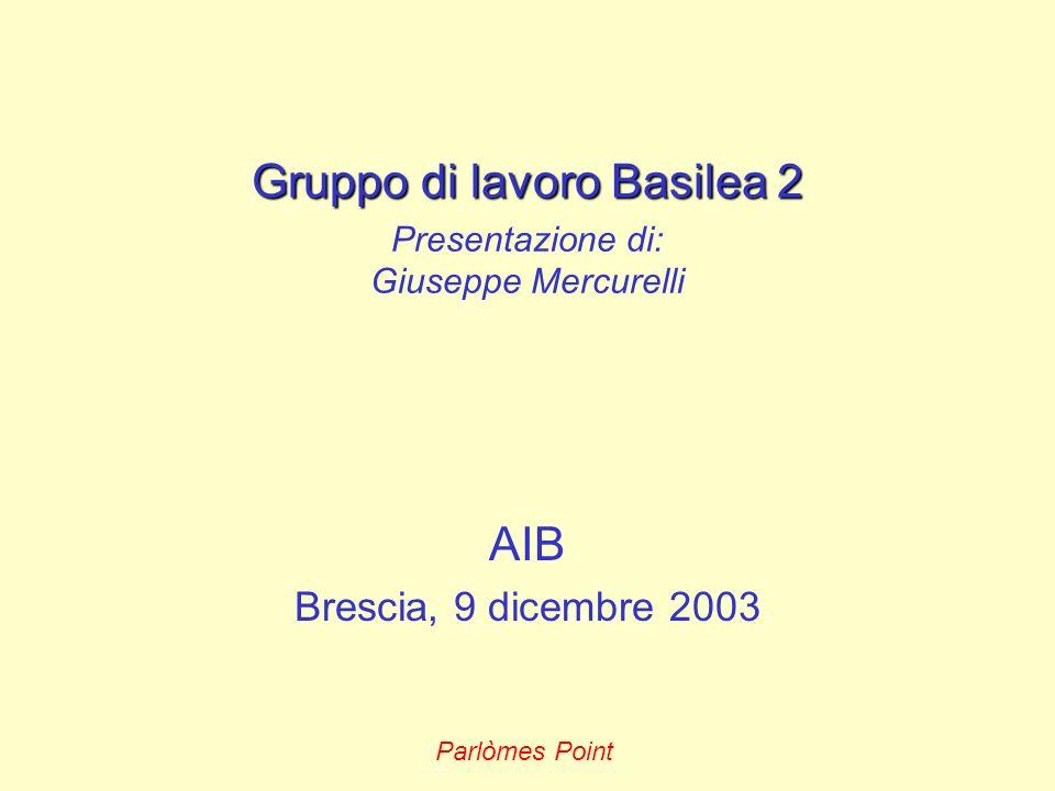 Gruppo di lavoro Basilea 2