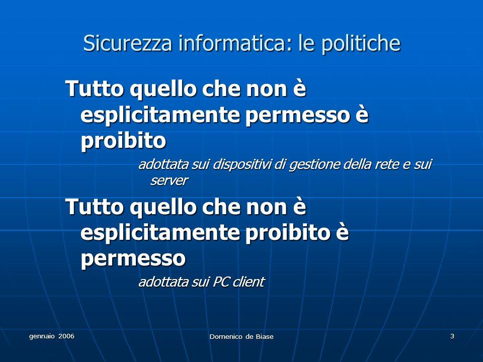 Sicurezza informatica: le politiche