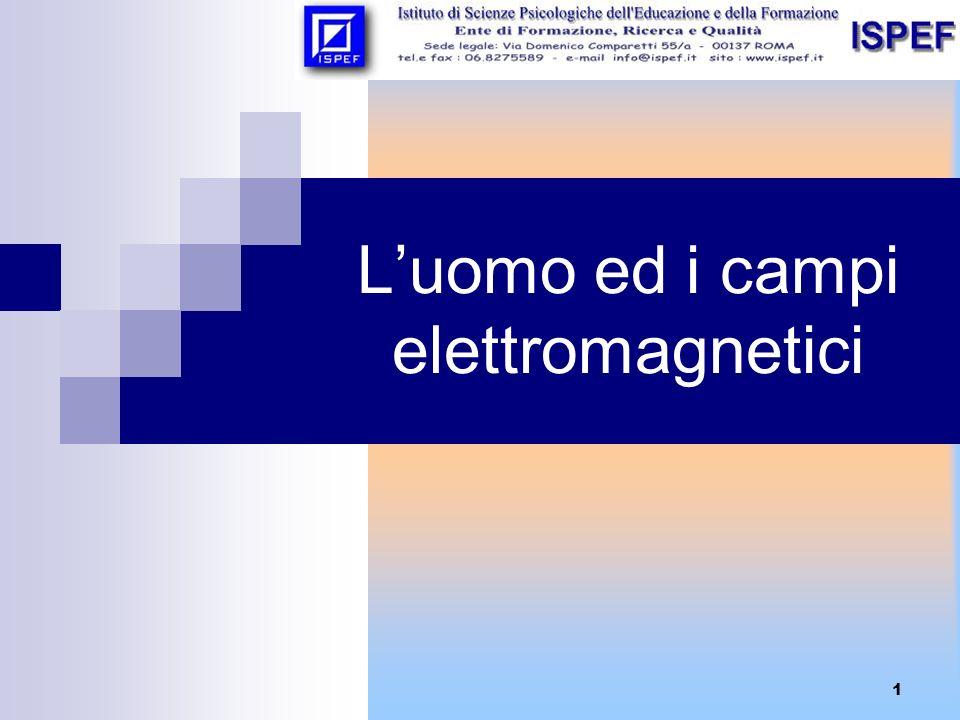 L'uomo ed i campi elettromagnetici