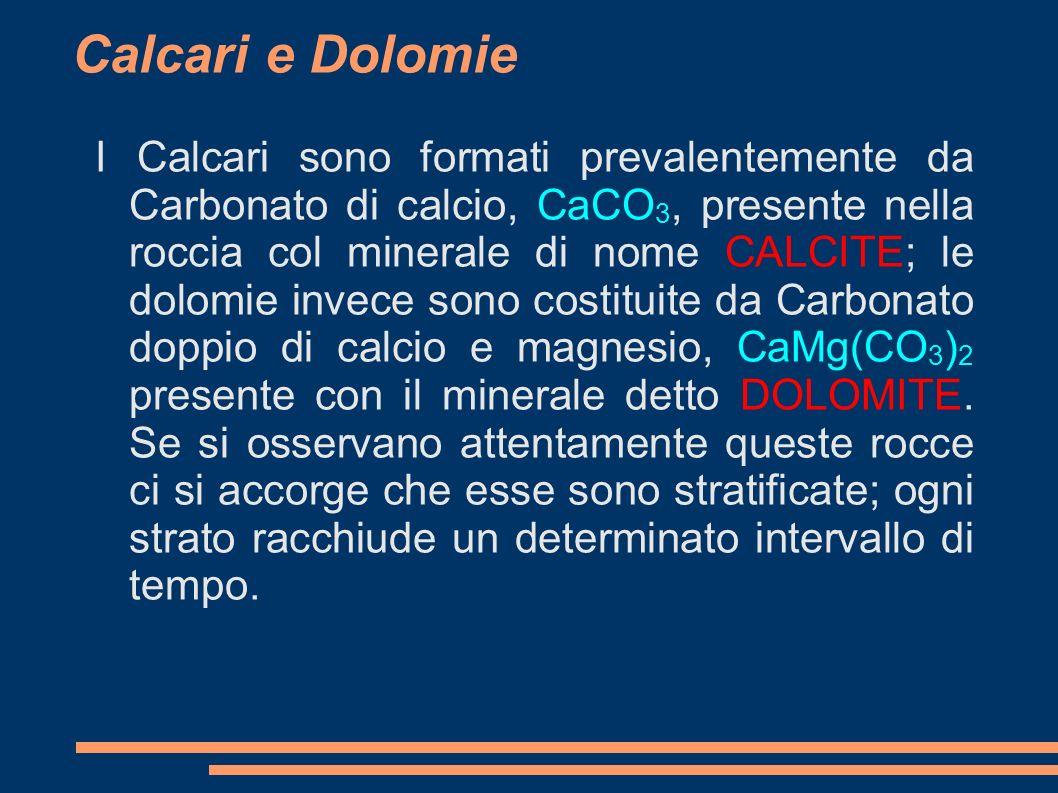 Calcari e Dolomie