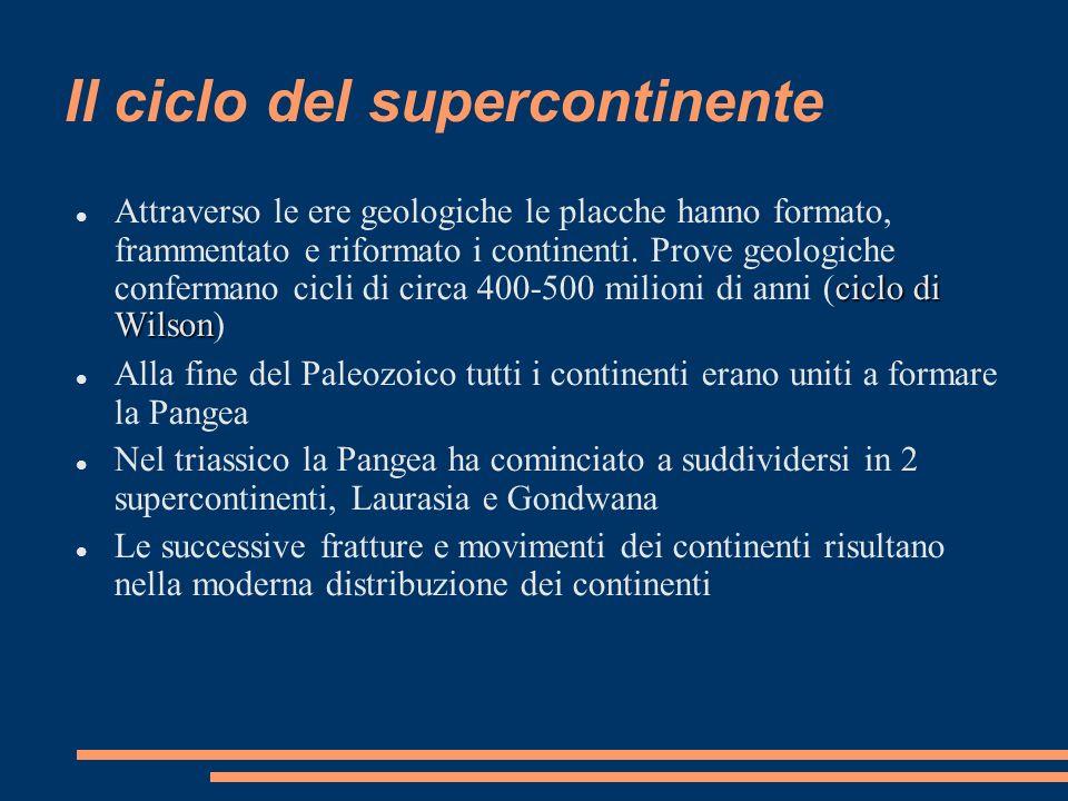 Il ciclo del supercontinente