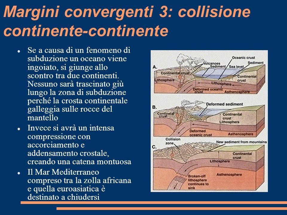 Margini convergenti 3: collisione continente-continente