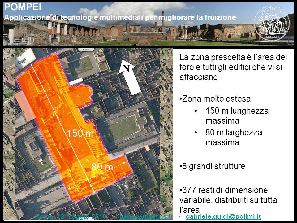 Roma, 12 maggio 2010 - benedetti@sns.it - gabriele.guidi@polimi.it