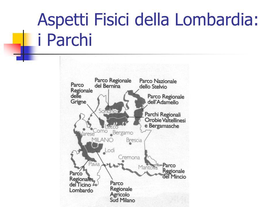 Aspetti Fisici della Lombardia: i Parchi