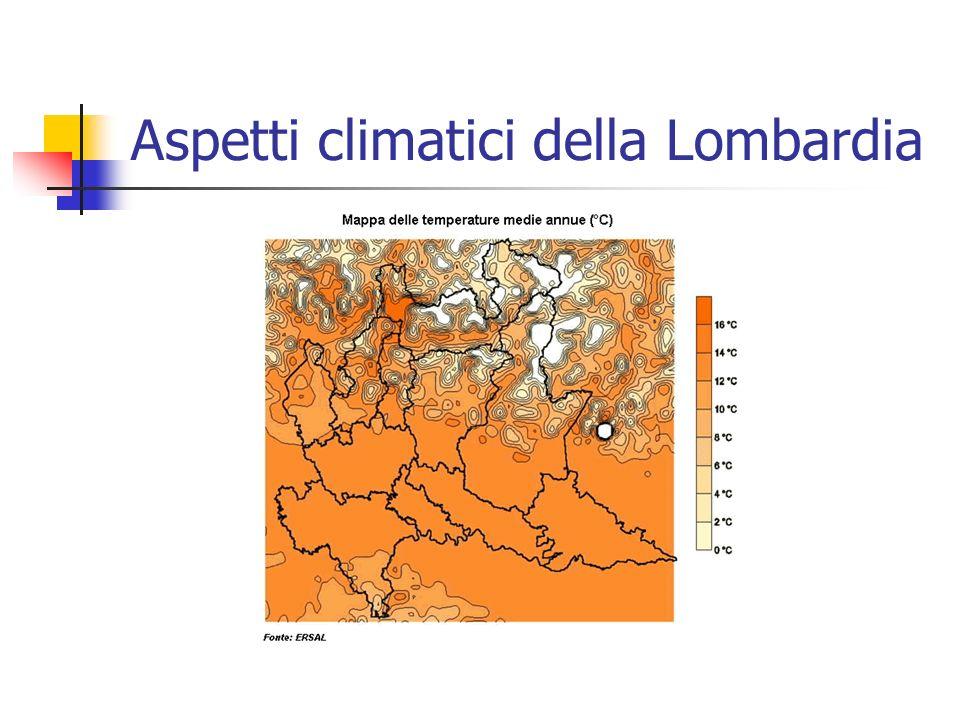 Aspetti climatici della Lombardia