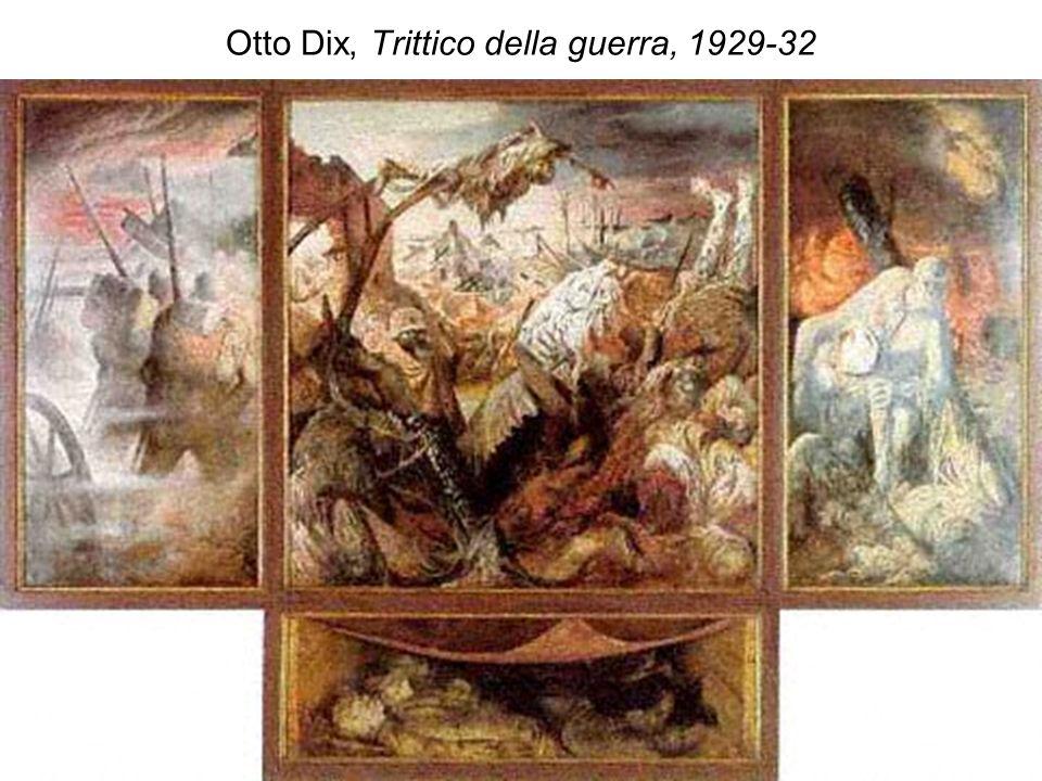 Otto Dix, Trittico della guerra, 1929-32