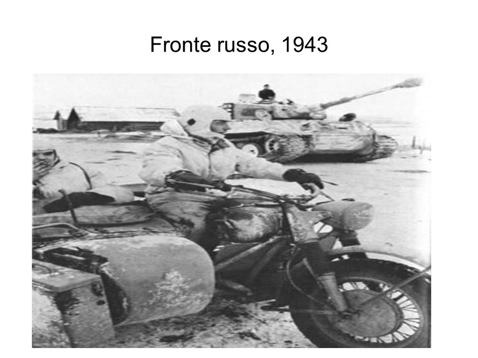 Fronte russo, 1943