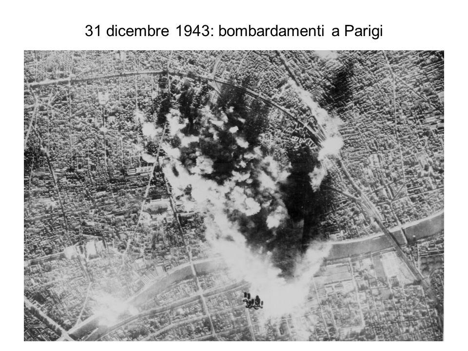31 dicembre 1943: bombardamenti a Parigi
