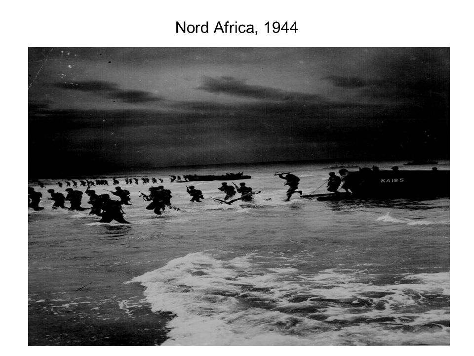 Nord Africa, 1944