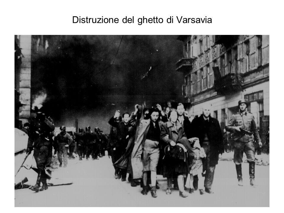 Distruzione del ghetto di Varsavia