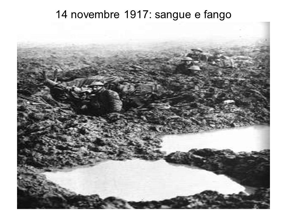 14 novembre 1917: sangue e fango