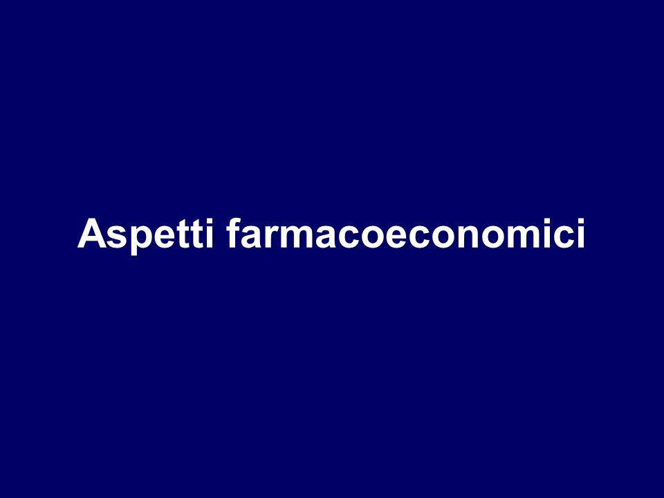 Aspetti farmacoeconomici