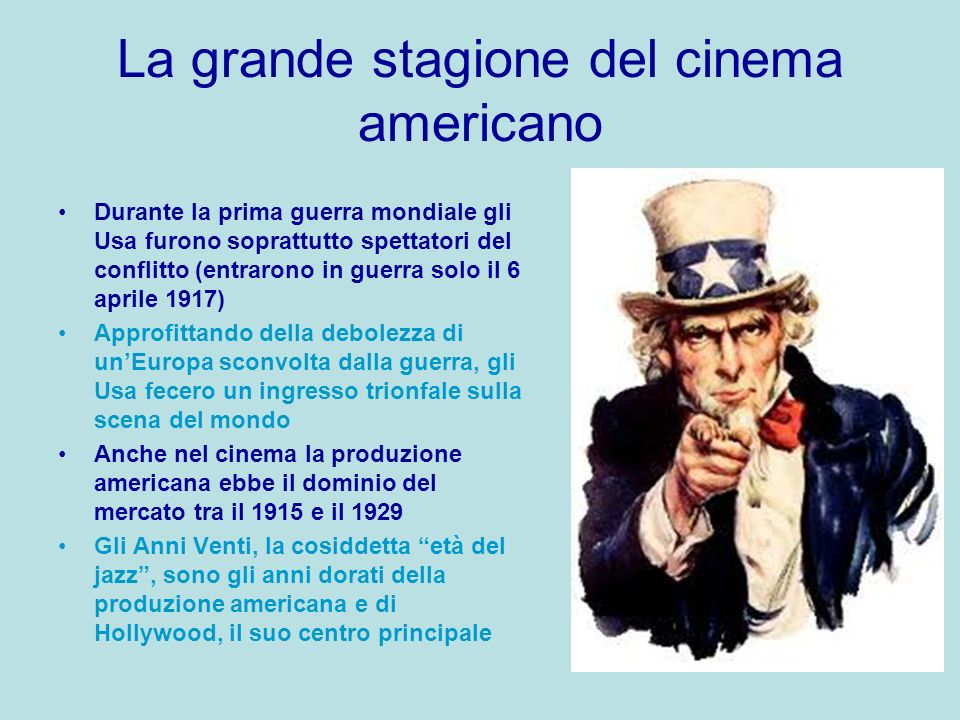 La grande stagione del cinema americano