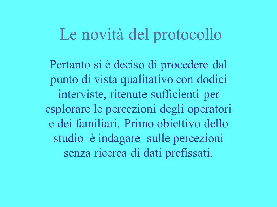 Le novità del protocollo