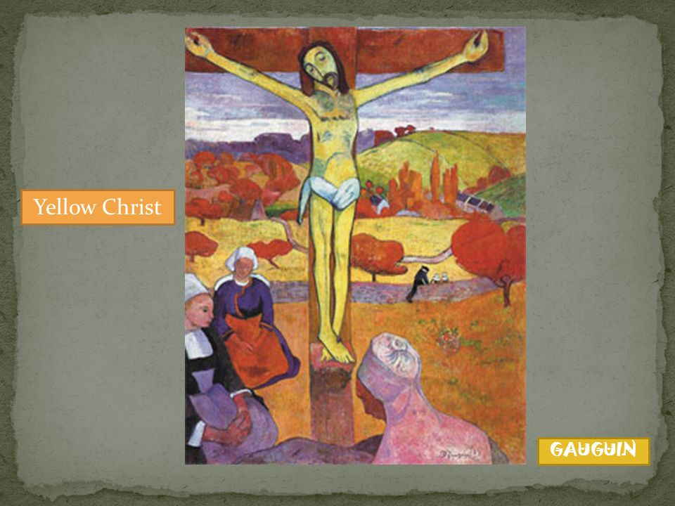 Yellow Christ GAUGUIN