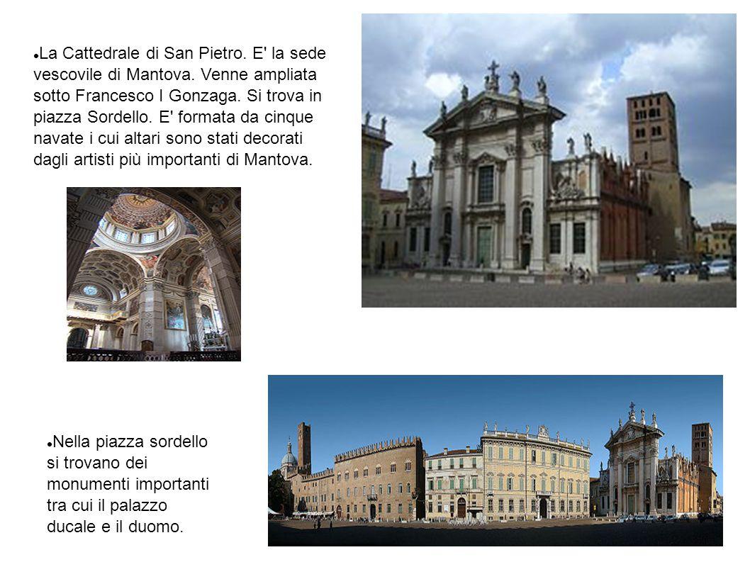 La Cattedrale di San Pietro. E la sede vescovile di Mantova