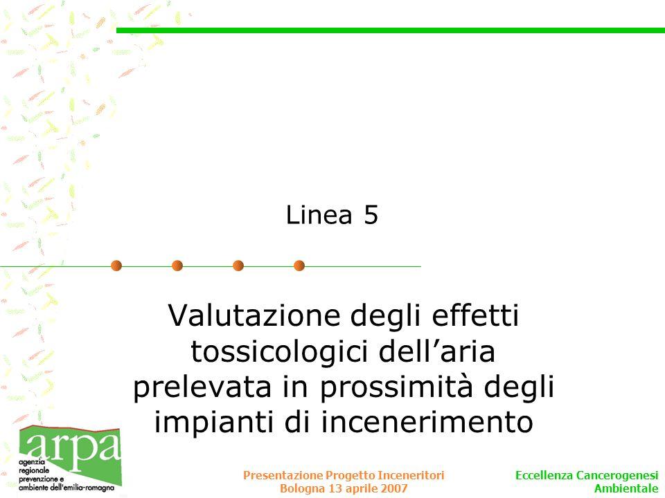 Presentazione Progetto Inceneritori Bologna 13 aprile 2007