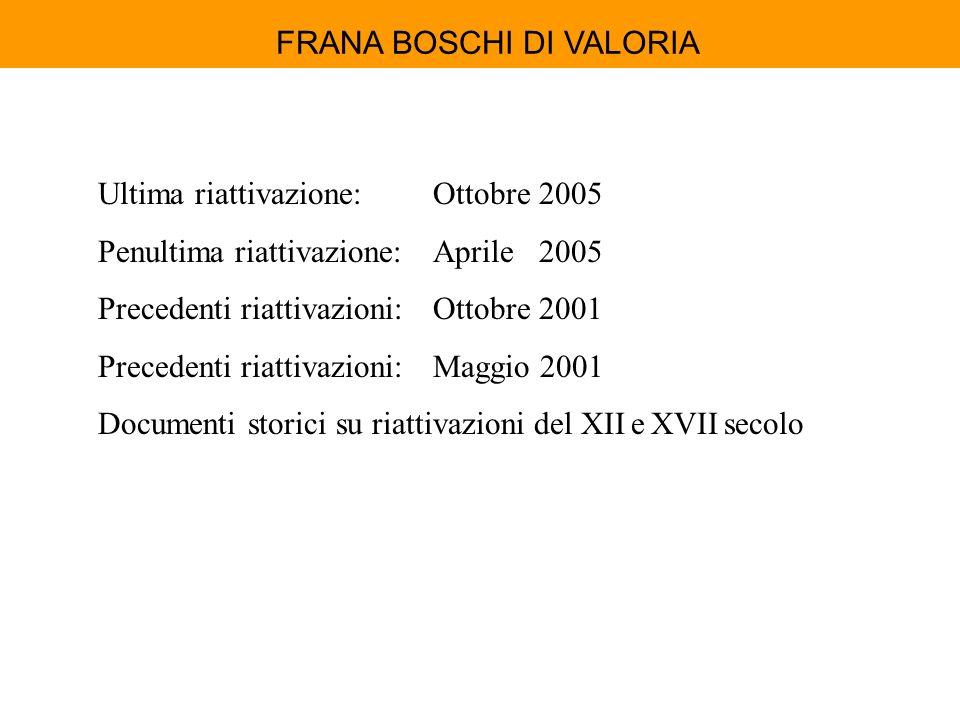 FRANA BOSCHI DI VALORIA