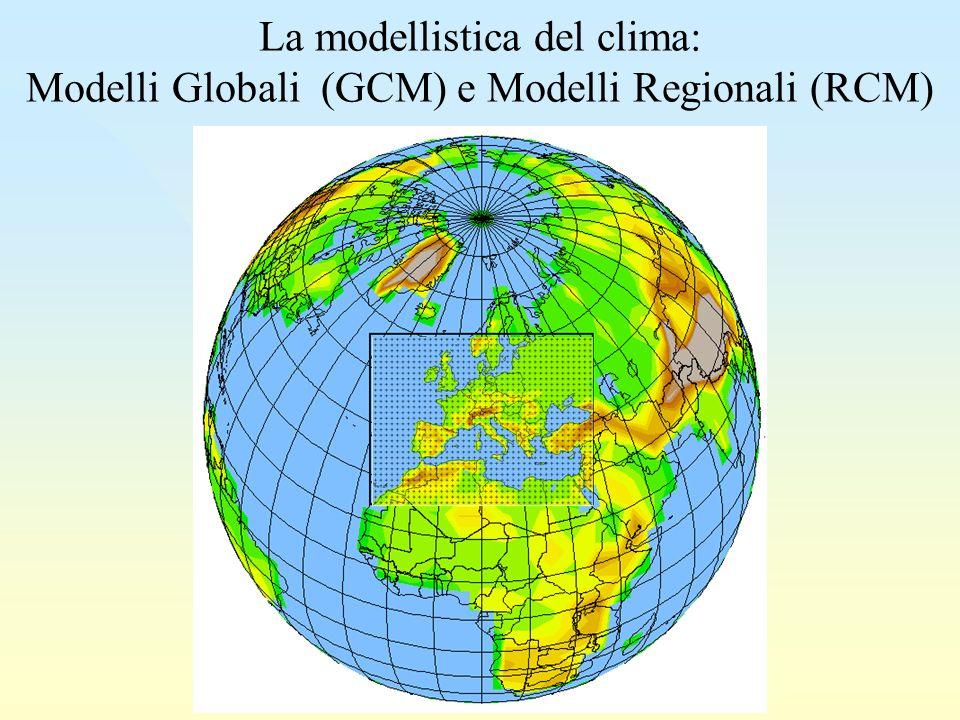 La modellistica del clima: