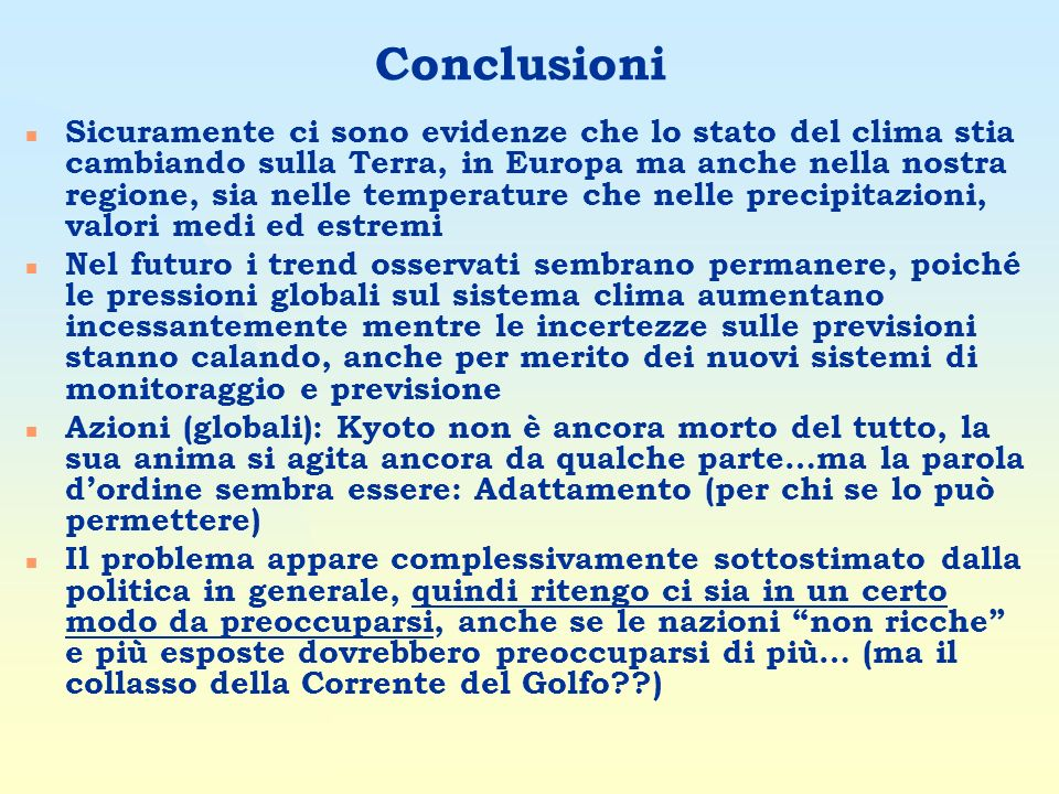 27/03/2017 Conclusioni.