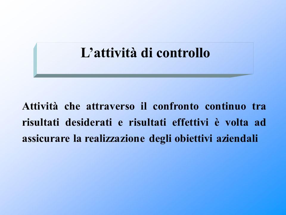 L'attività di controllo
