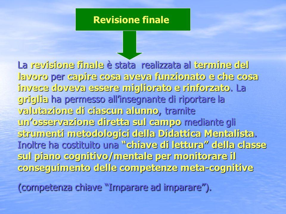 Revisione finale