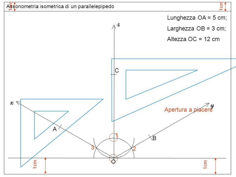 Assi assonometria isometrica