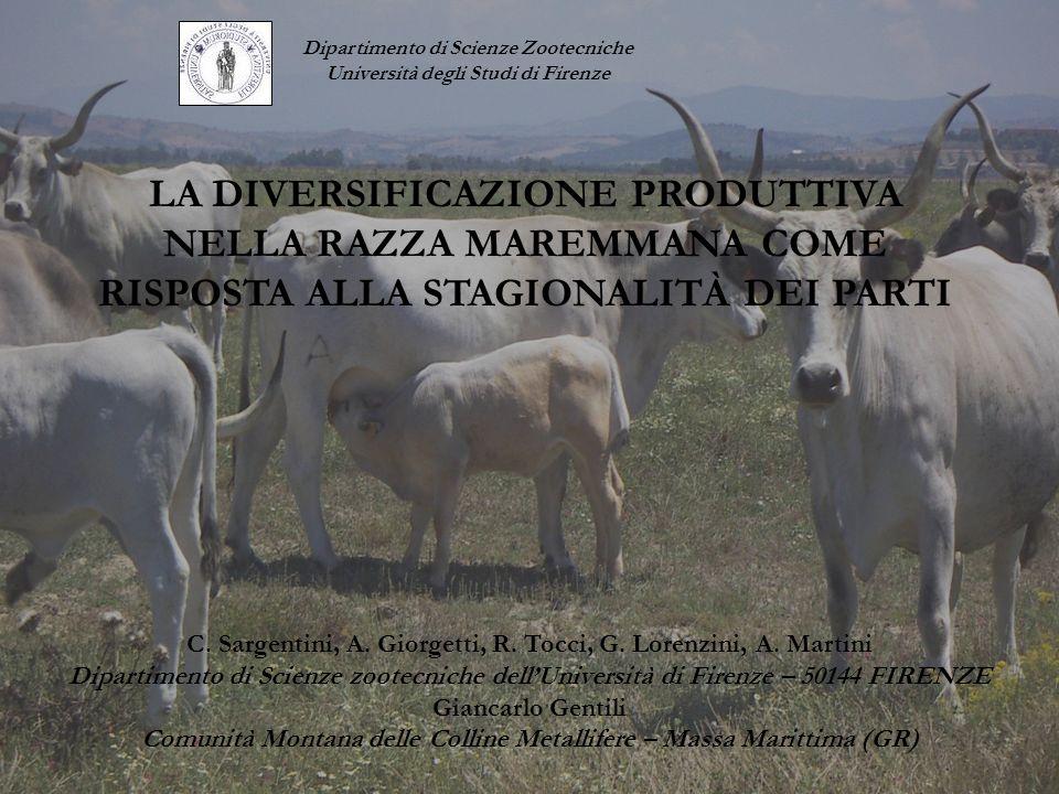 Dipartimento di Scienze Zootecniche Università degli Studi di Firenze