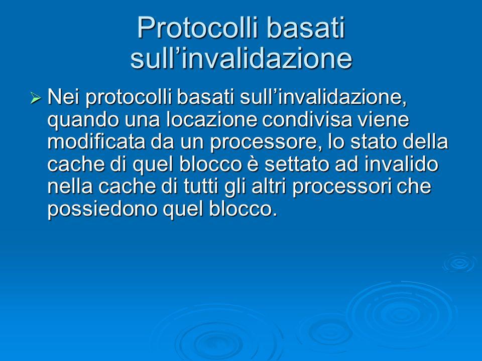 Protocolli basati sull'invalidazione