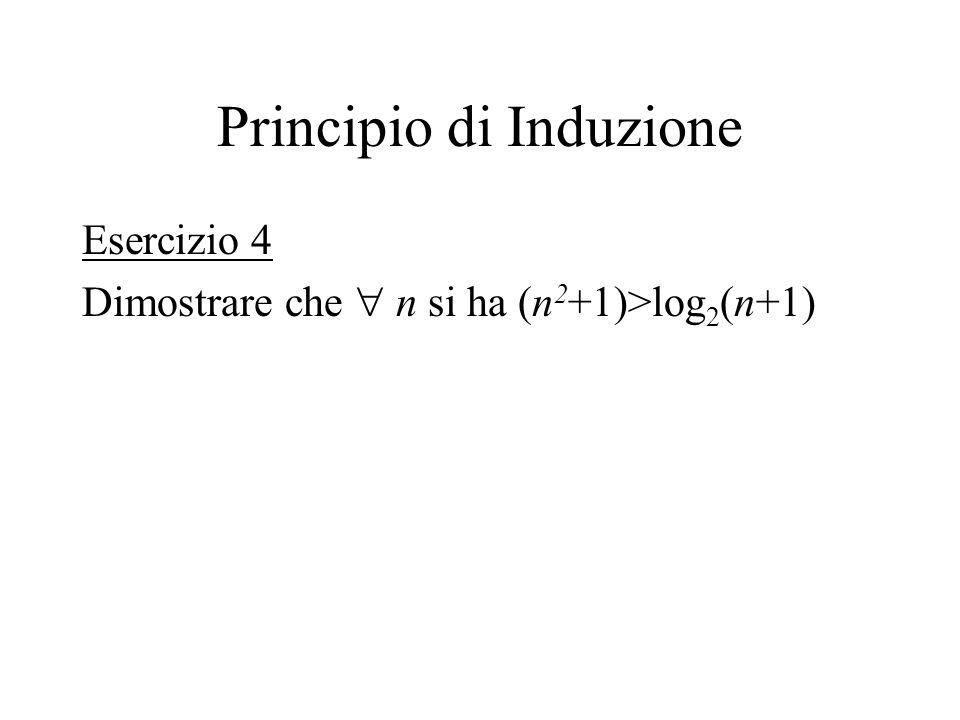Principio di Induzione
