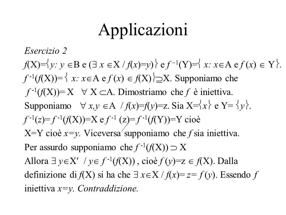 Applicazioni Esercizio 2