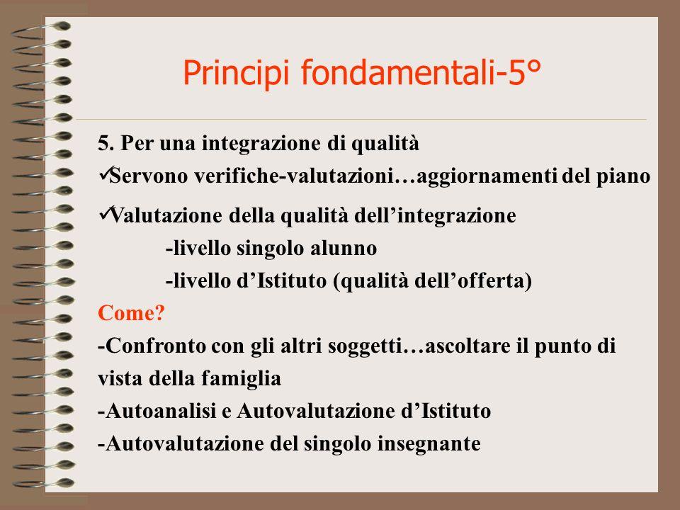 Principi fondamentali-5°