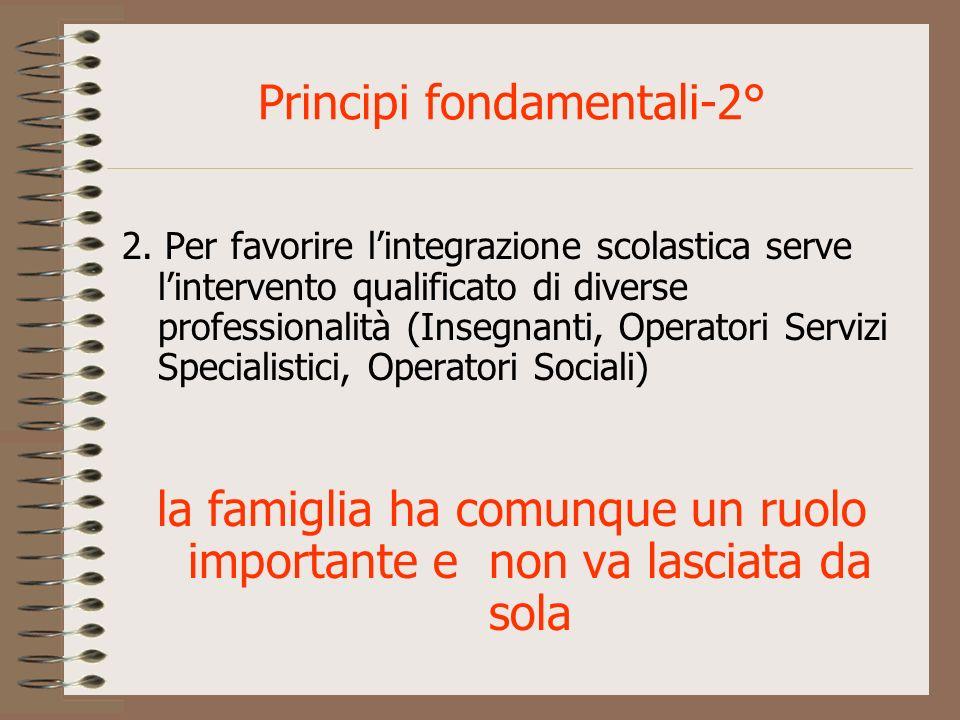 Principi fondamentali-2°