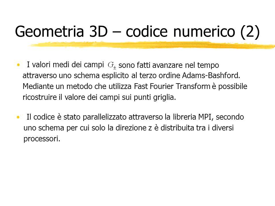 Geometria 3D – codice numerico (2)